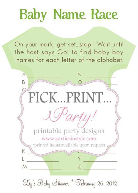 baby shower name game printable free printable baby shower game ideas car tuning car tuning