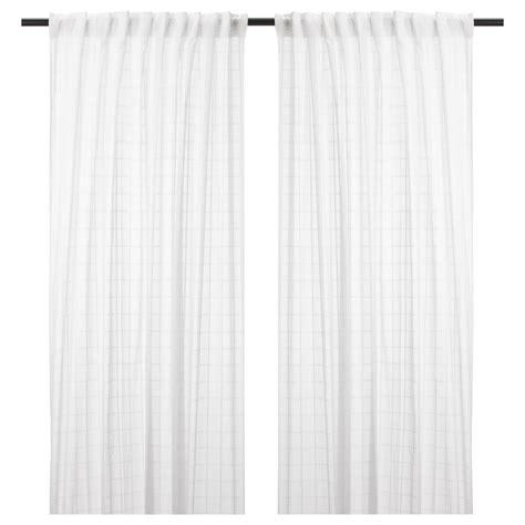 ikea sheer curtain panels bergitte sheer curtains 1 pair white 140x250 cm ikea