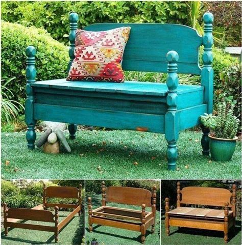 bed into bench diy bed turned into bench home design garden