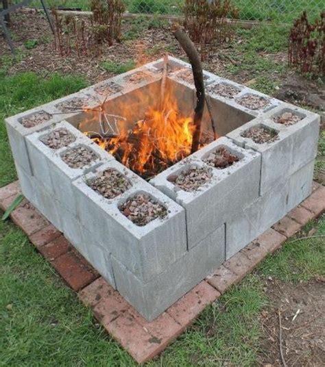 Foto Als Billige Feuerstelle Im Garten