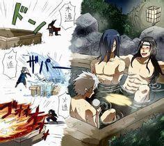 naruto hot springs fanfiction izuna madara tobirama hashirama hashimada and