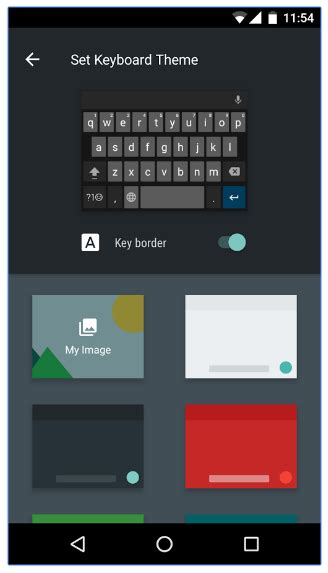 theme keyboard for android how to customize your android keyboard with colors