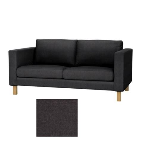 karlstad sofa bed slipcover ikea karlstad 2 seat sofa slipcover loveseat cover sivik dark gray grey