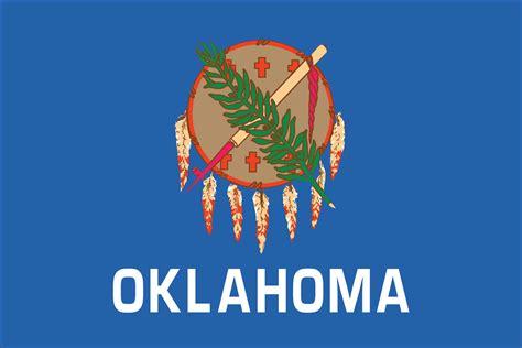 oklahoma images oklahoma state flag flagnations