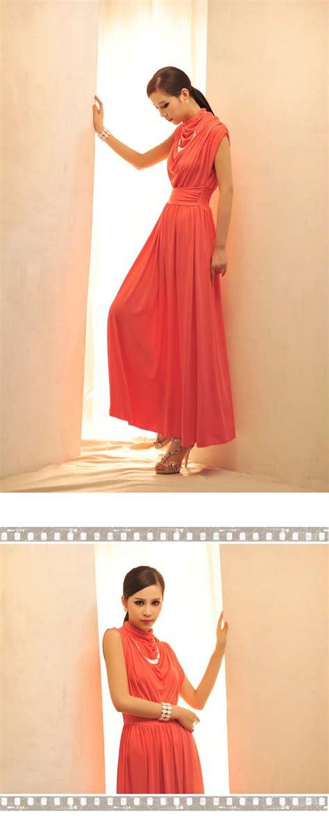 Dress Merah Lengan Buntung Sale dress korea pesta lengan buntung terbaru model
