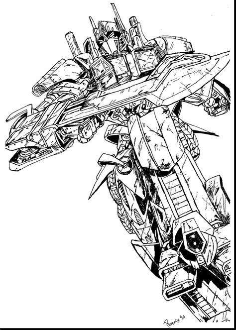 optimus prime coloring page transformers prime coloring pages bltidm