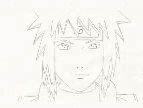 Minato Namikaze Full Body Drawing Sketch Coloring Page sketch template