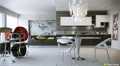 Cucine A U dise 241 o de cocinas modernas iluminaci 243 n de interiores