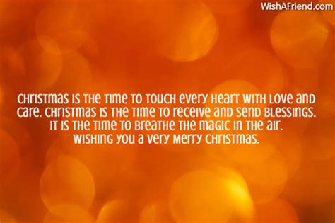 christmas   time  touch christmas love message