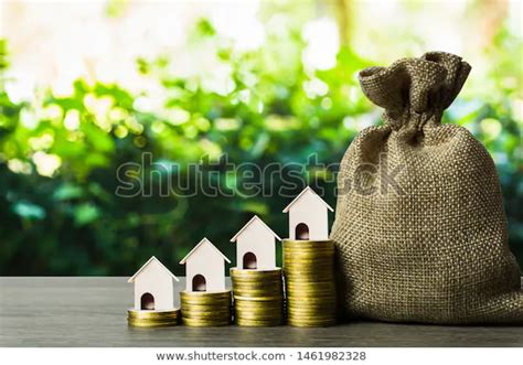 longterm property investment concept home loan stock photo