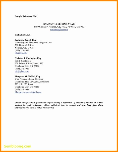 references for resume template best of resume template references best templates