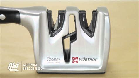 how to use the knife sharpener how to use a wusthof knife sharpener