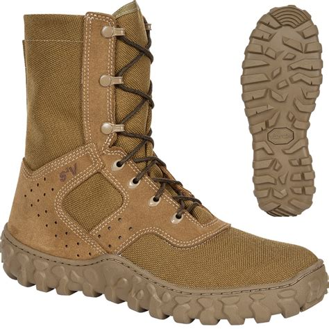 coyote brown boots rocky s duty s2v lightweight jungle boots