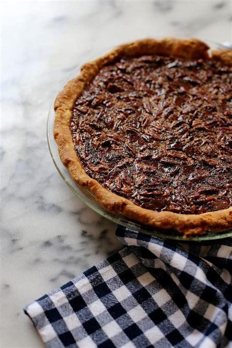 bourbon pecan pie  dark chocolate