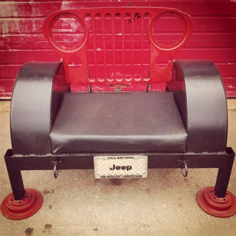 jeep bench seat 1000 images about jeep furniture on pinterest license