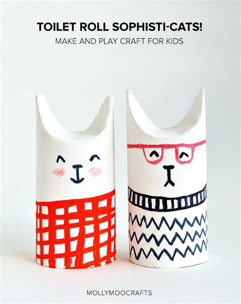 What Can You Make Out Of A Toilet Paper Roll - 6 creative crafts with toilet paper rolls petit small