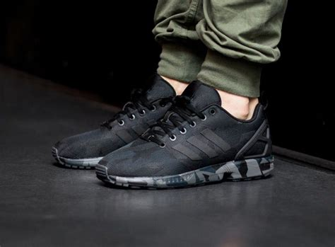 Sepatu Adidas Zx Flux Camo adidas flux camo black wallbank lfc co uk