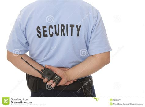 security guard royalty free stock photography image