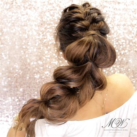 make cute everyday hairstyles simple ponytails ponytail here s how to make a big mohawk braid ponytail hairstyle
