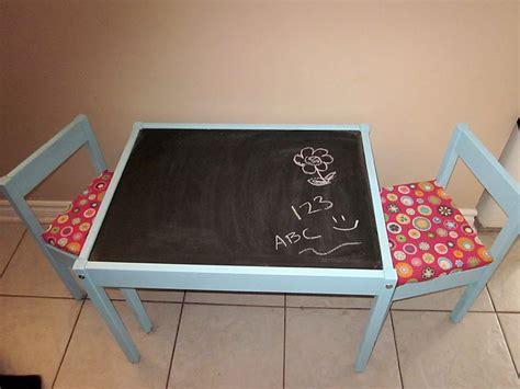 chalkboard paint ikea diy ikea latt chalkboard play table could also use white