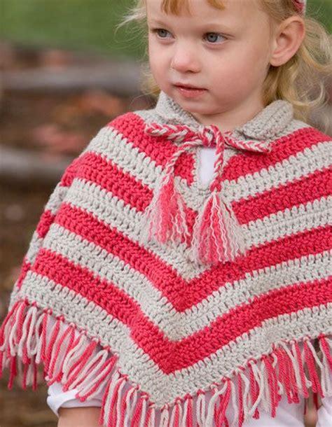child s poncho knitting pattern child crochet poncho hat set knitting patterns and