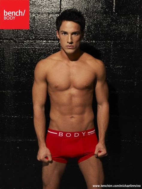 bench underwear model michael trevino shirt off vire diaries star michael