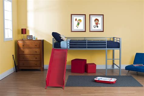 toddler loft bed with slide metal loft bed 157 36 twin mattress 72 60 highly