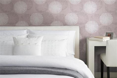 patterned bedroom wallpaper a cool purple bubble patterned wallpaper idea for modern