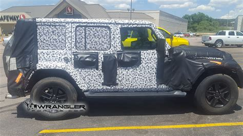 Wrangler Jl Diesel by 2019 Jeep Wrangler Diesel Prototype Reappears Great