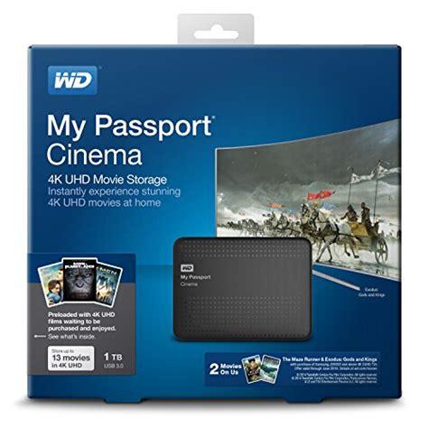 amazon customer reviews western digital my passport western digital wd my passport cinema 1tb 4k uhd