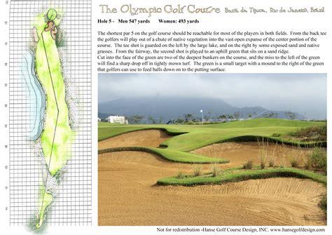 the olympic golf course hanse golf course design