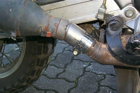 Motorrad Auspuff Adapter by Africa Twin Motor Auspuff
