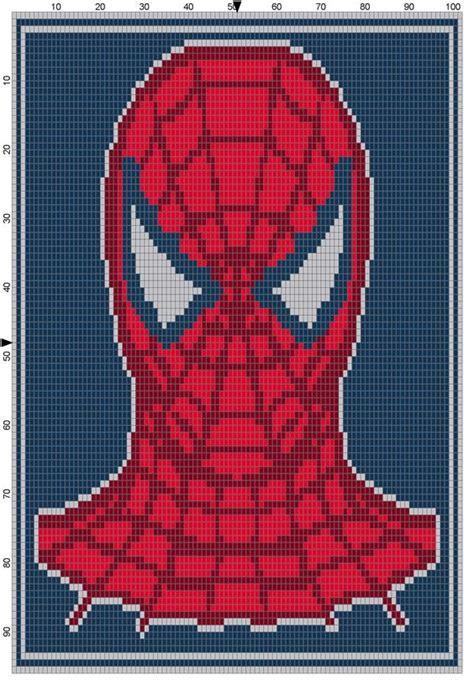 spiderman graphghan pattern spiderman headshot comics pinterest spiderman