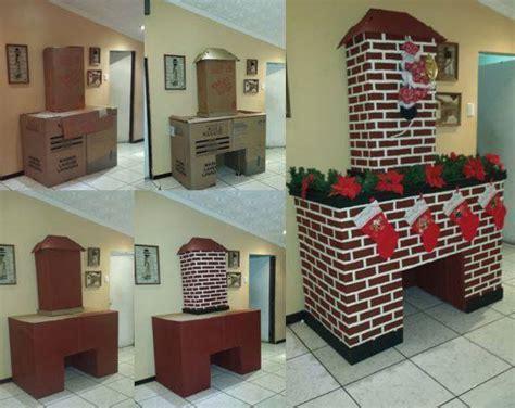 como hacer una chimenea de unicel para decorar el hogar c 243 mo hacer una chimenea con cajas de cart 243 n dale detalles