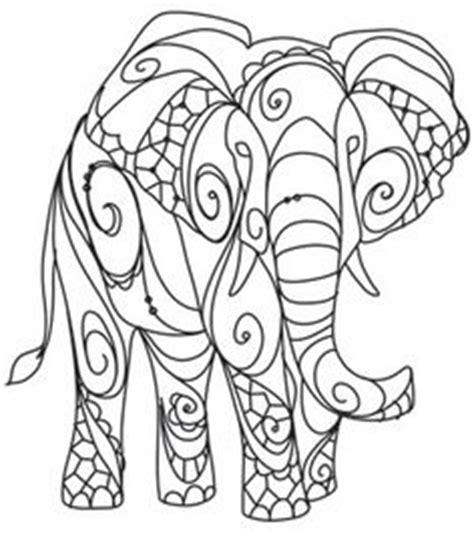 elephant mandala coloring pages easy resultado de imagen para patrones de bordado mexicano