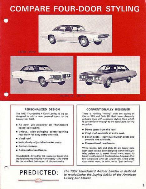 free car manuals to download 1967 ford thunderbird user handbook directory index ford thunderbird 1967 ford thunderbird 1967 thunderbird vs competition