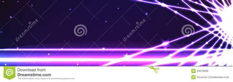 taking a stock of space lighting and design in your banner line light effect space stock vector image 54076936