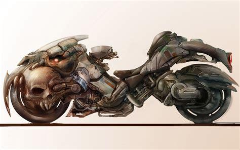 Fantasy Motorrad Bilder by Motorcycle Art Wallpaper Wallpapersafari