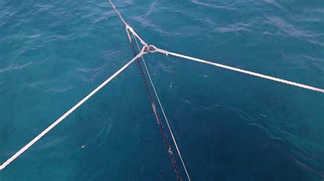 catamaran anchor bridle catamaran sailing part 3 anchoring yachting world