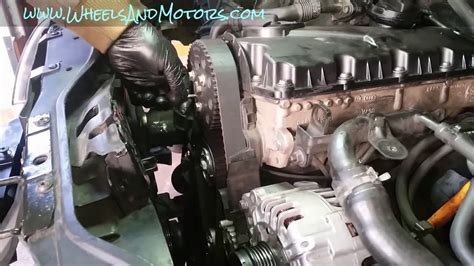 skoda cambelt change how to replace timing belt cambelt and water 1