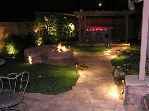 Impressive Patio Lighting Ideas For Sweet Patio Design Backyard Landscape Lighting