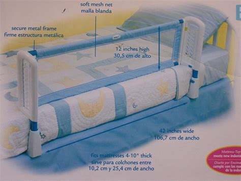 toddler bed safety rail safety 1st secure adjustable toddler bed rail baby guc ebay