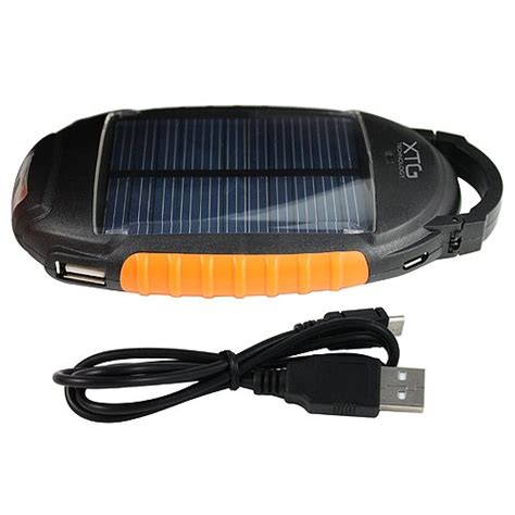 xtg solar charger xtg solar charger compact solar powered battery pack