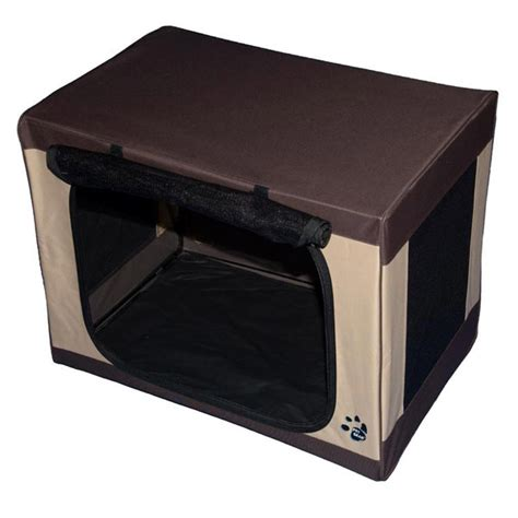 large travel crate travel lite soft crate at baxterboo