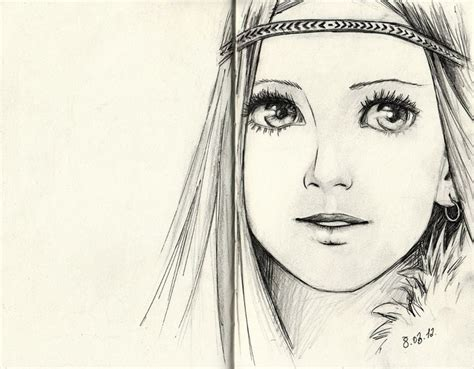 girl face drawing pinterest the world s catalog of ideas