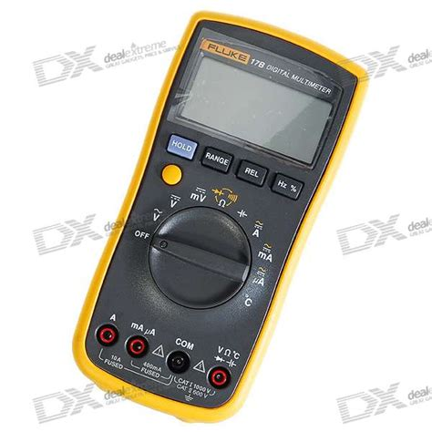 Multimeter Fluke 17b fluke 17b 2 6 quot lcd digital multimeter meter 2 aa included