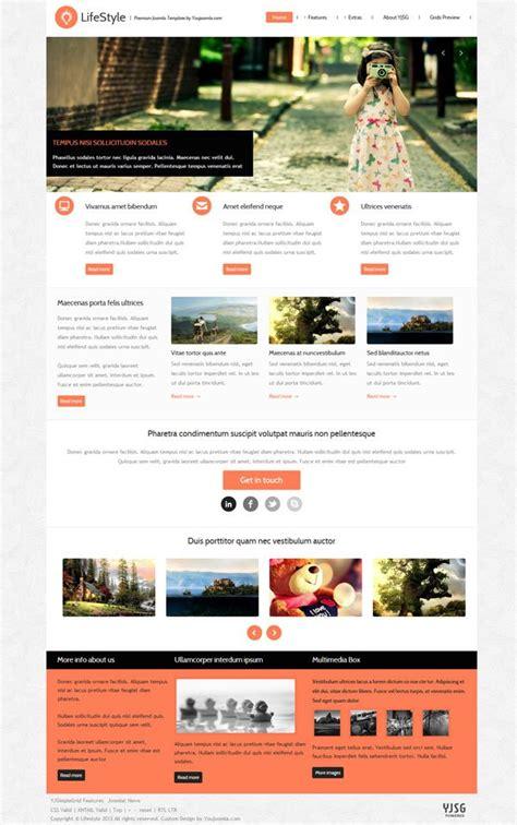 lifestyle portfolio joomla template