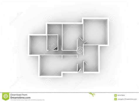 House Design Plans 3d Up And Down floorplan for a typical house or office building from