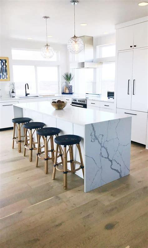 beach house kitchen  dal tile  quartz countertops