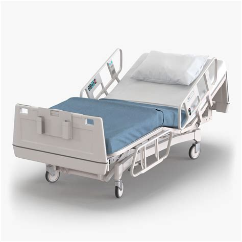 medical beds hospital bed 2 3d model